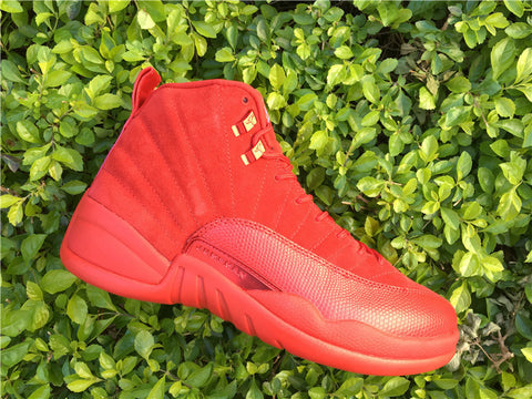 AIR JORDAN 12 (RED OCTOBER - SUEDE)