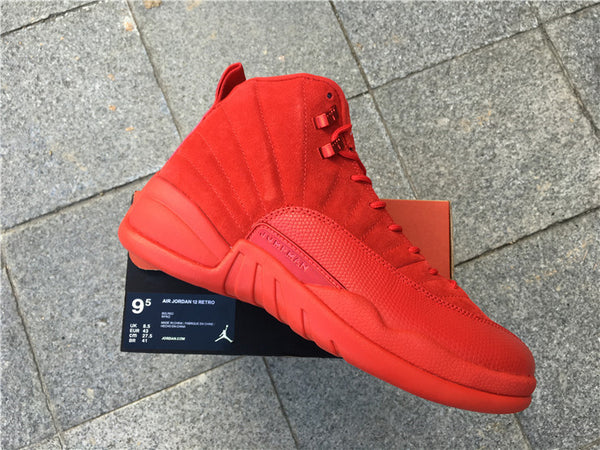 e78475531041e0 AIR JORDAN 12 (RED OCTOBER - SUEDE) – CrispyKicks