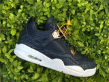 AIR JORDAN 4 (PREMIUM NAVY LEATHER)