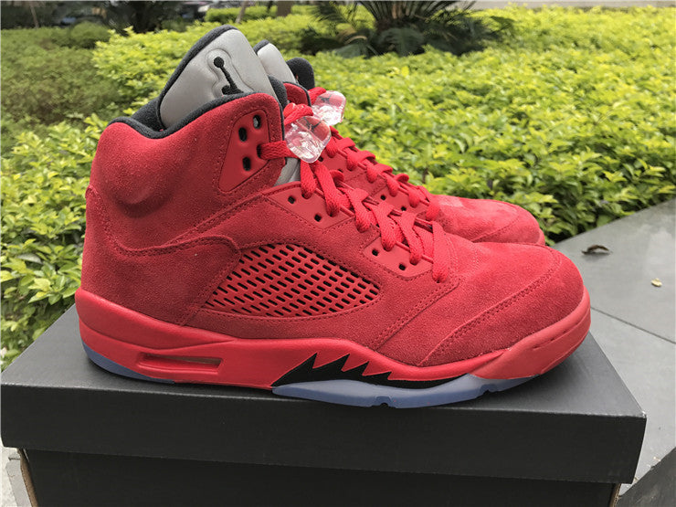 AIR JORDAN 5 (BLACK / RED - RAGING BULL 2017)