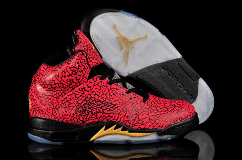 AIR JORDAN 5 (3LAB5 Elephant Red)