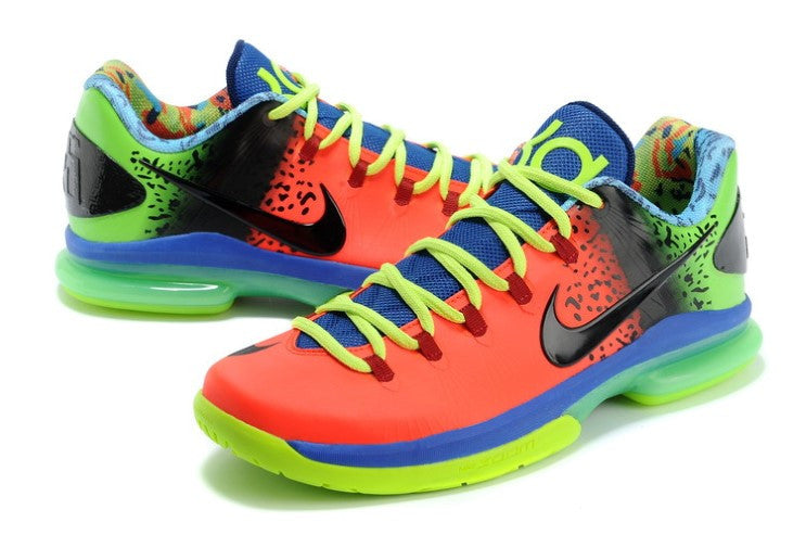 NIKE ZOOM KD VI (FIRE RED / VOLT)