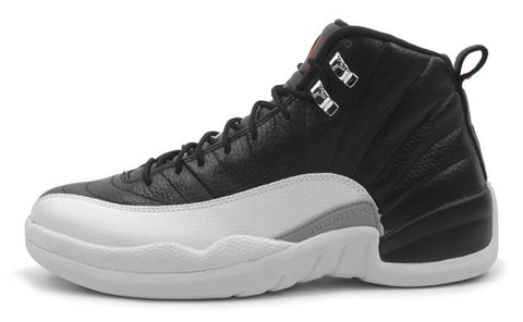 AIR JORDAN 12 (BLACK/ WHITE)