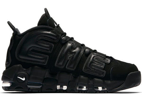 NIKE AIR MORE UPTEMPO (BLACK SUPREME)