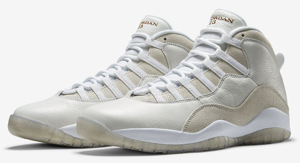98e33d22c1fe42 AIR JORDAN 10 (WHITE   GOLD - OVO - DRAKE) – CrispyKicks