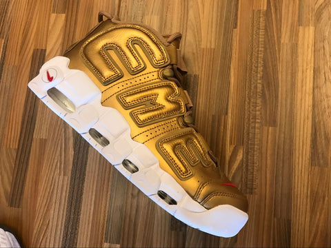 ... NIKE AIR MORE UPTEMPO (GOLD SUPREME) ...