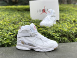 AIR JORDAN 8 (WHITE OVO DRAKE)