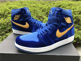 AIR JORDAN 1 (ROYAL BLUE VELVET)