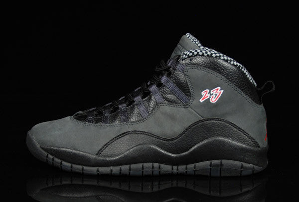 AIR JORDAN 10 (SHADOW BLACK)
