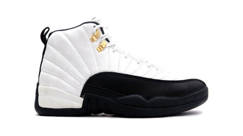 AIR JORDAN 12 (WHITE / BLACK - TAXIs)