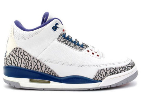 AIR JORDAN 3 (WHITE / TRUE BLUE)