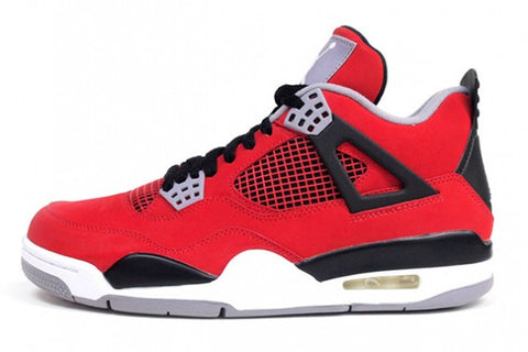 AIR JORDAN 4 (BLACK / RED - RAGING BULL TORO BRAVO)