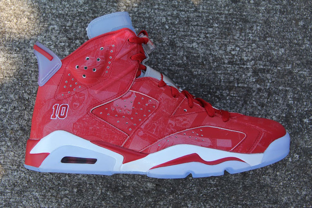 AIR JORDAN 6 (SPORT RED / SLAM DUNK)