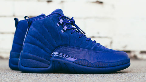 AIR JORDAN 12 (DEEP ROYAL BLUE - SUEDE)