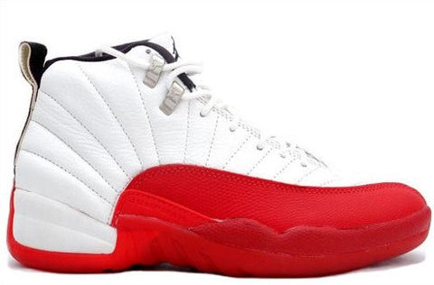 AIR JORDAN 12 (WHITE / RED)