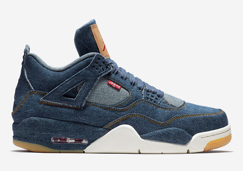 AIR JORDAN 4 (Denim/Denim-Sail-Gum LEVIs)