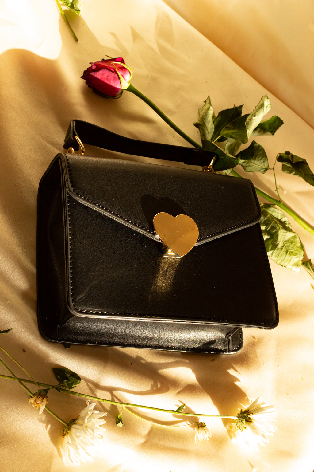 Heart Envelope Crossbody Messenger Bag - Sugar + Style