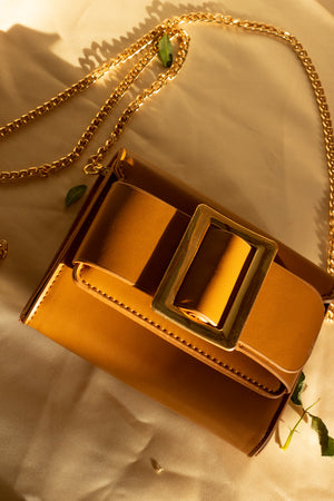 Large Buckle Clutch Bag - Sugar + Style