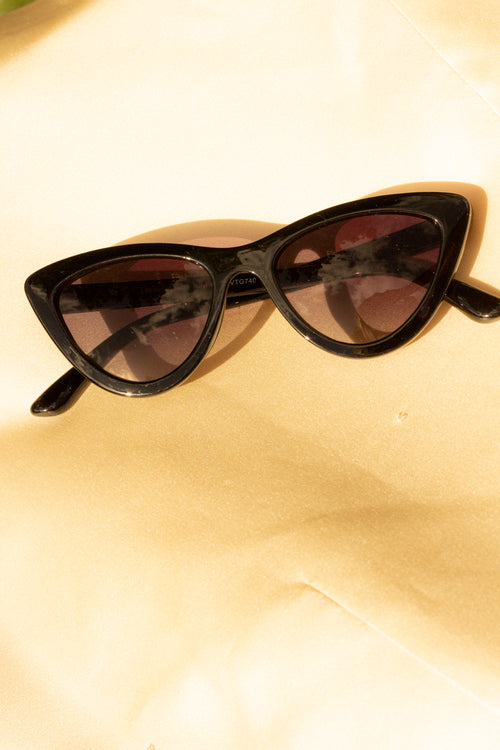 Deep Mini Cat Eye Sunglasses