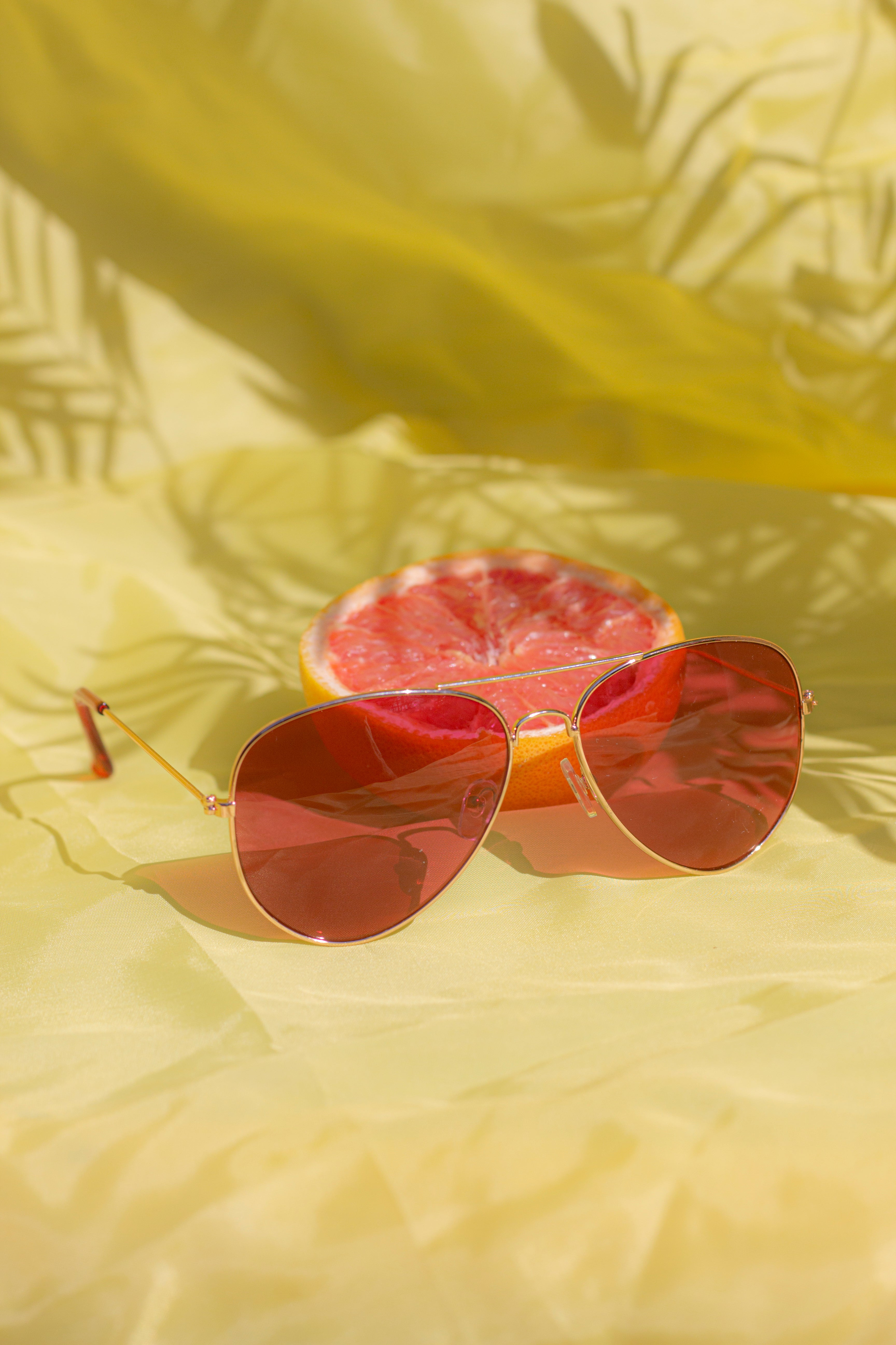 Tint Aviator Sunglasses - Sugar + Style