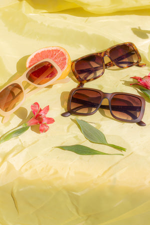 Chunky Square Sunglasses - Sugar + Style