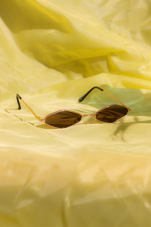 Narrow Diamond Sunglasses - Sugar + Style