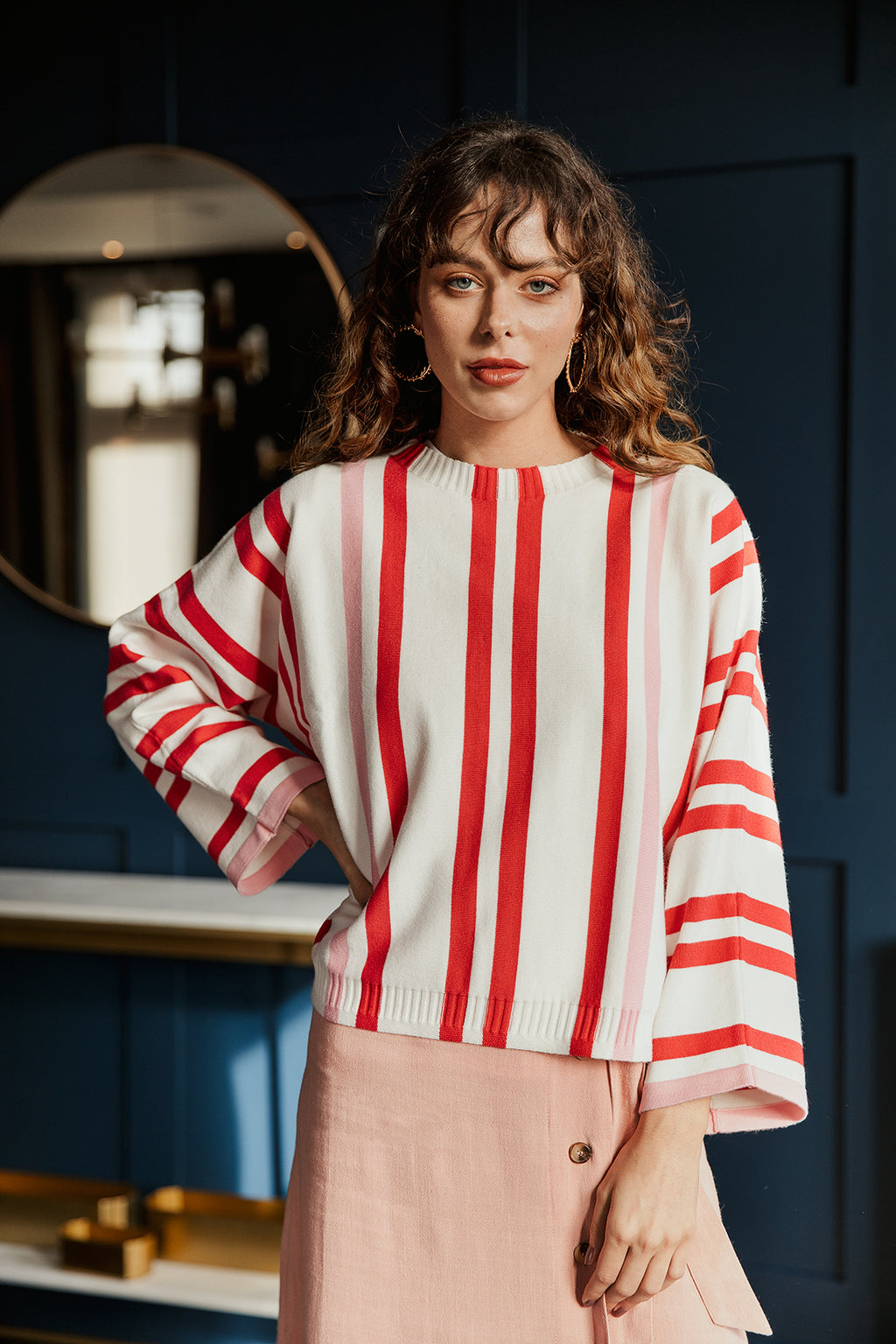 Candy Stripe Jumper - Sugar + Style