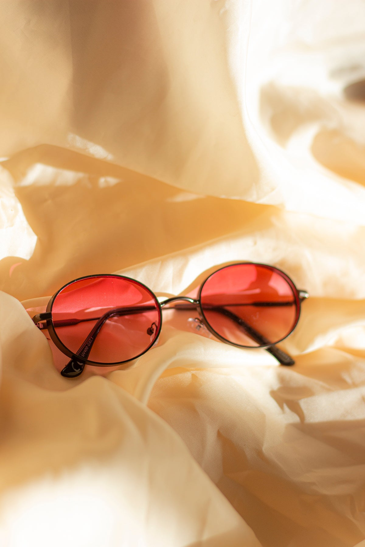 Deep Metal Frame Sunglasses - Sugar + Style