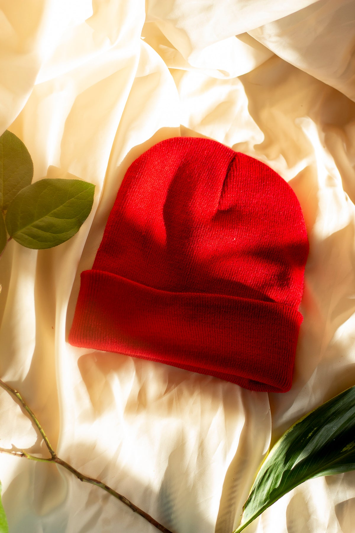 True Red Beanie Hat - Sugar + Style