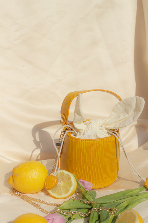 Mini Bucket Basket Bag