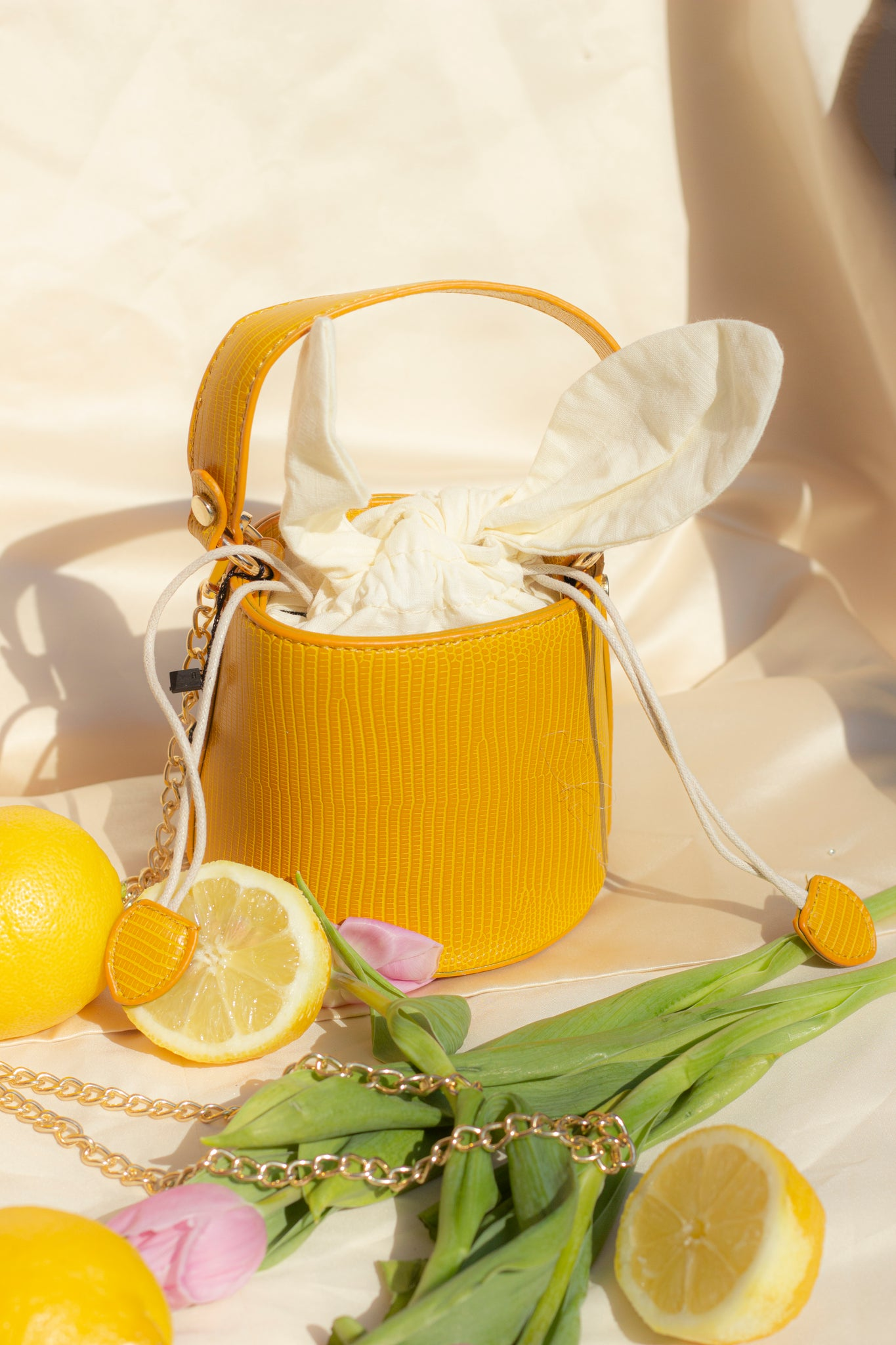 Mini Bucket Basket Bag - Sugar + Style