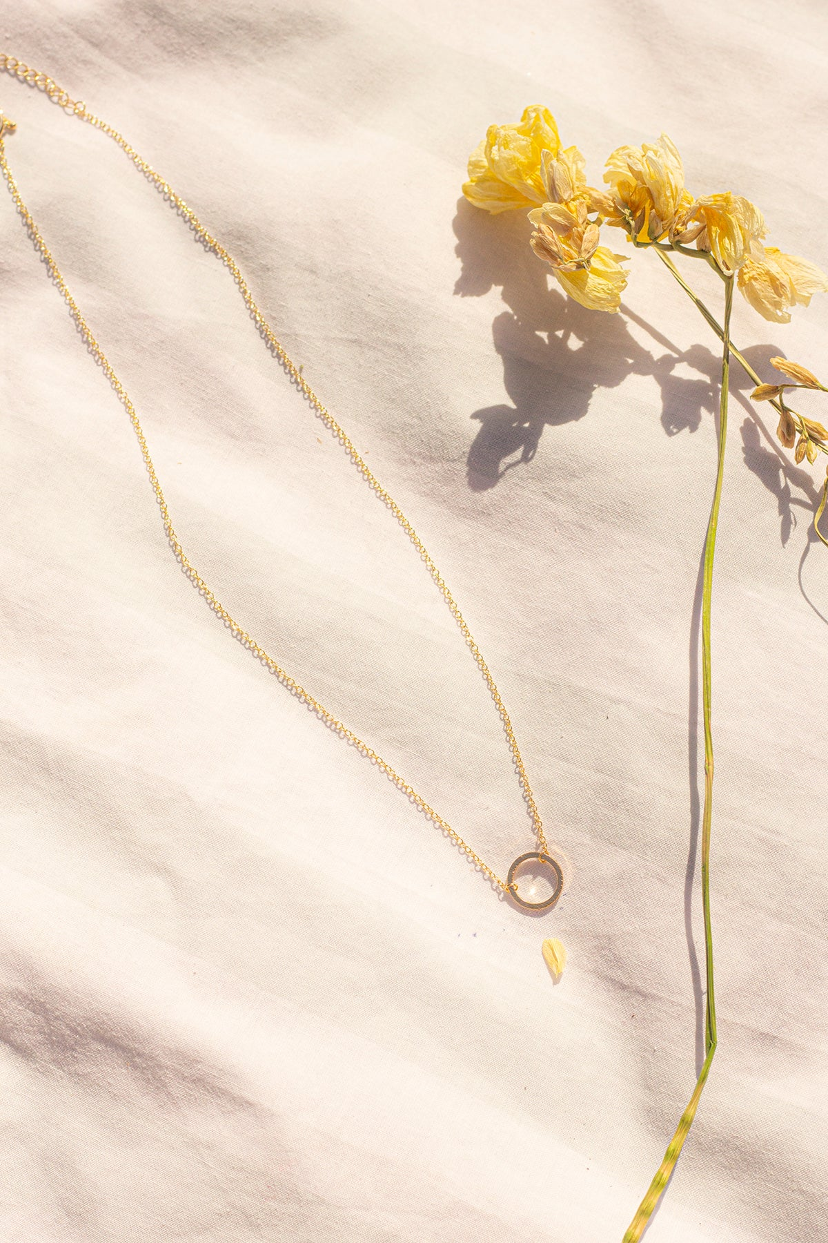 Circle Motif Necklace - Sugar + Style