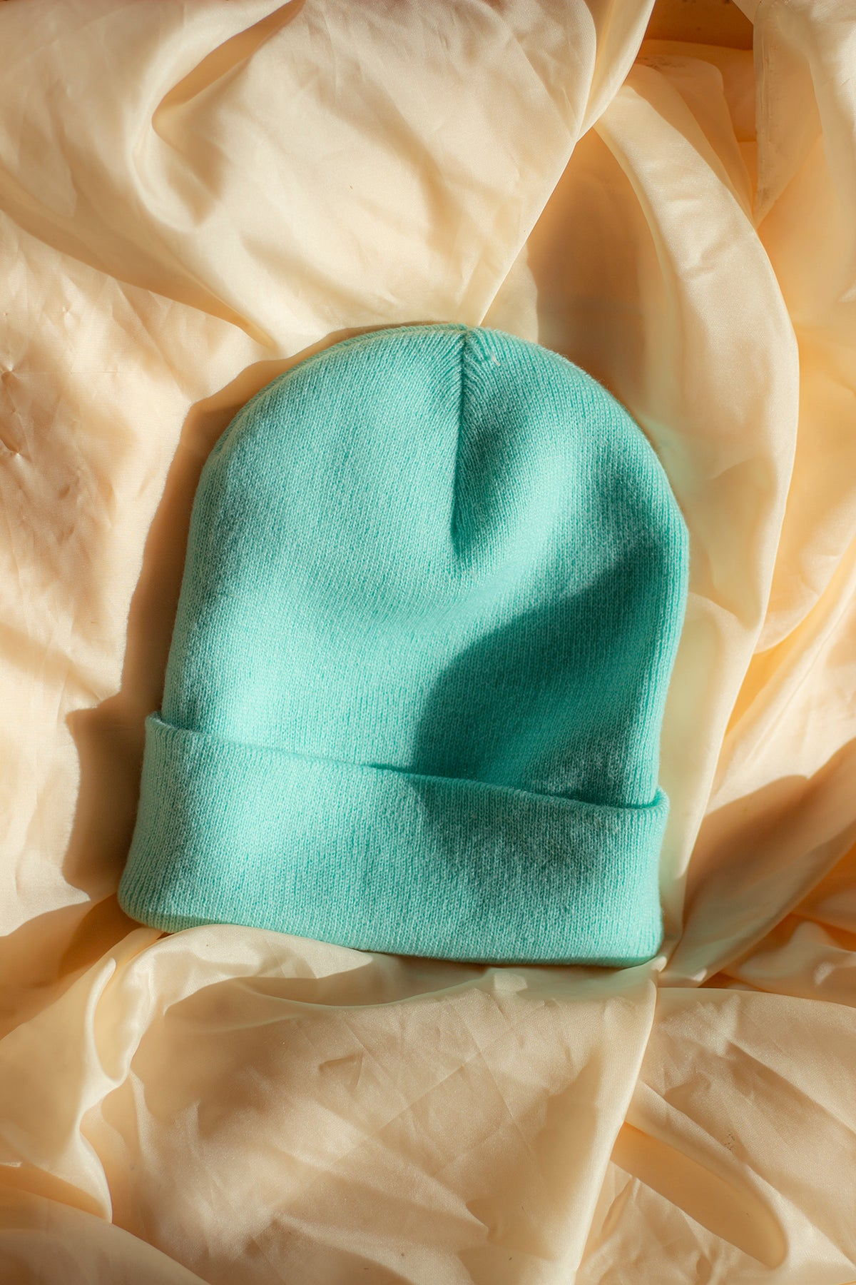 Turquoise Mint Beanie Hat - Sugar + Style