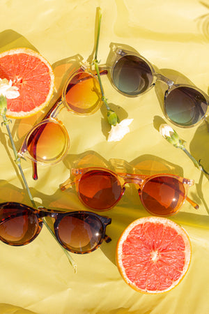 Contemporary Round Sunglasses - Sugar + Style