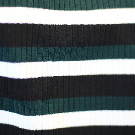 Scoop Neck Stripe Tee - Sugar + Style