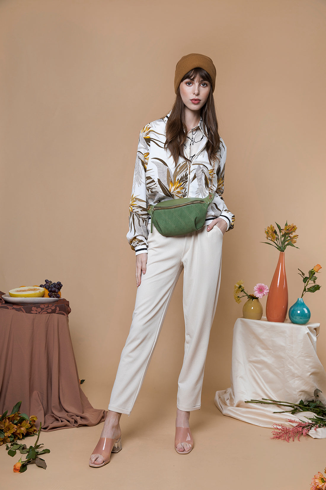Straight Cut Trouser - Sugar + Style