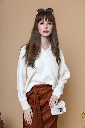 V Neck Soft Knit - Sugar + Style