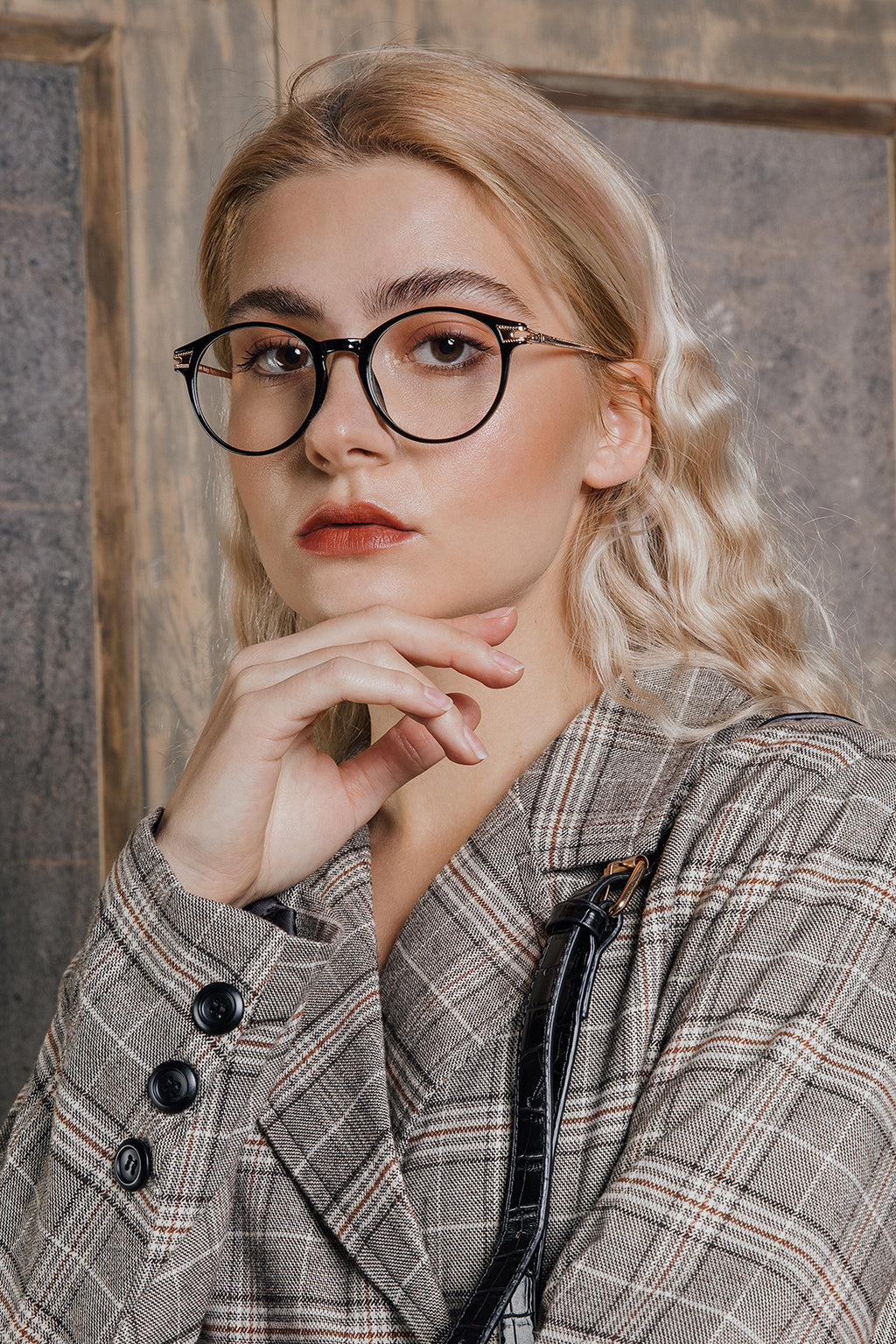 Thin Metal Arm Fashion Glasses - Sugar + Style