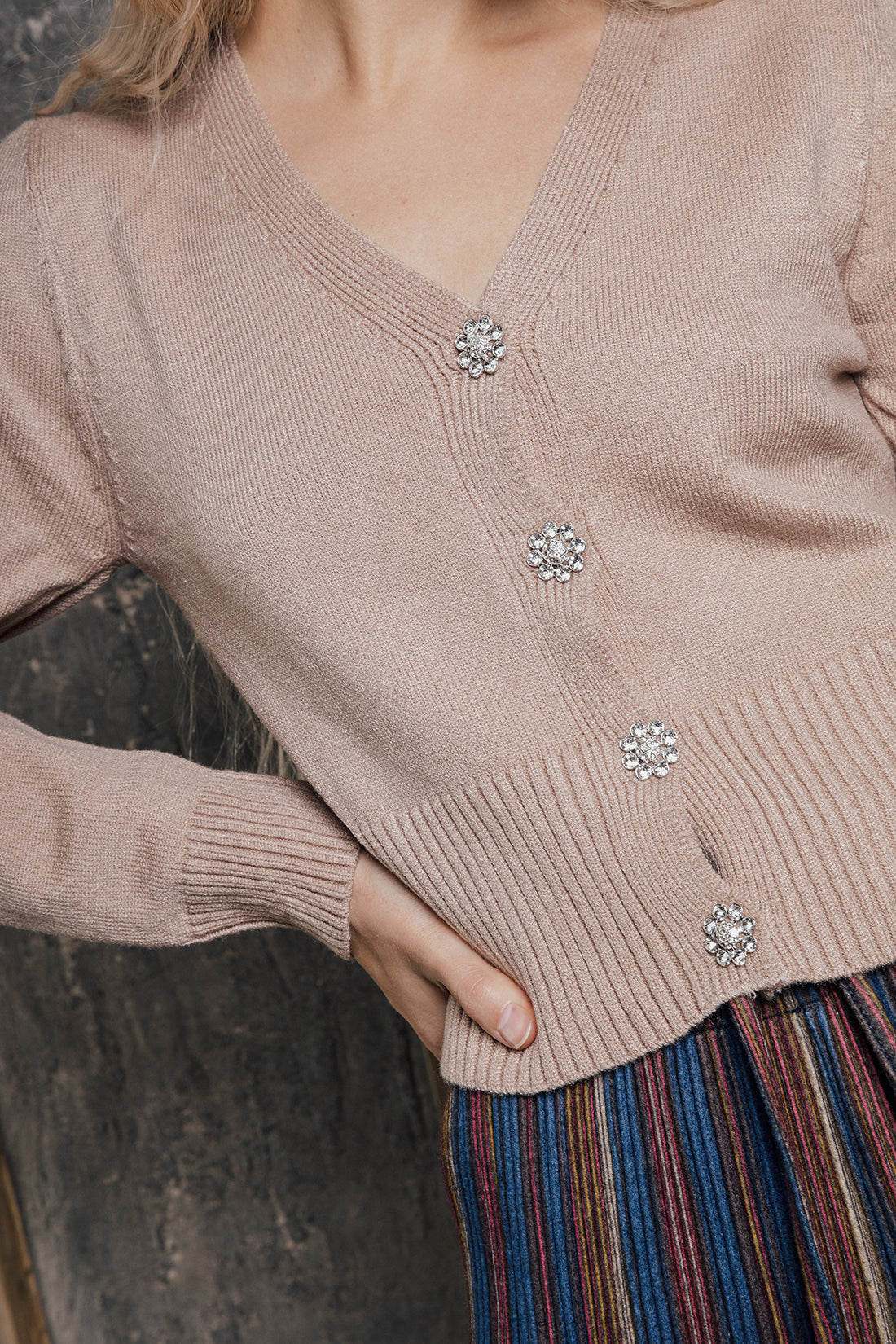Super Soft Button Up Cardigan - Sugar + Style