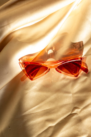 Transparent Triangle Sunglasses - Sugar + Style