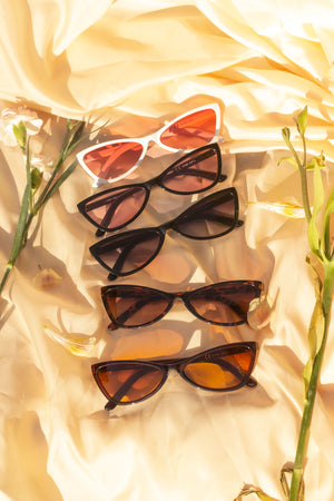Triangle Cut Sunglasses - Sugar + Style