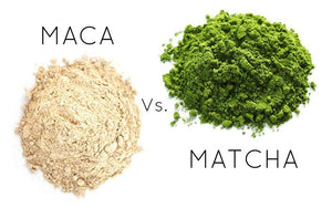 What's the difference between Matcha and Maca