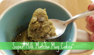 Super Milk Matcha Mug Cakes by Saloca in Wonderland
