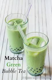 Hot Matcha Bubble Tea