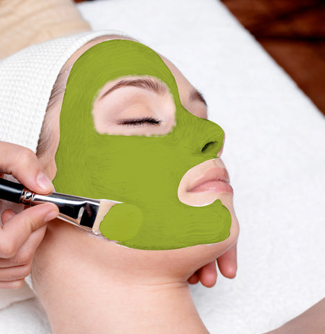 matcha-face-mask-for-acne
