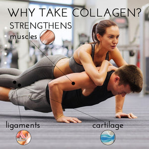 Marine Collagen Peptides Powder Protein Supplement 200g