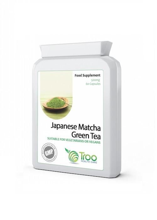Japanese Matcha Green Tea Capsules 500mg - 60 - Teaologists - 1