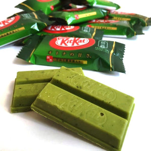 Matcha Green Tea Flavour Mini Kitkat Chocolate Bar - 6 pieces