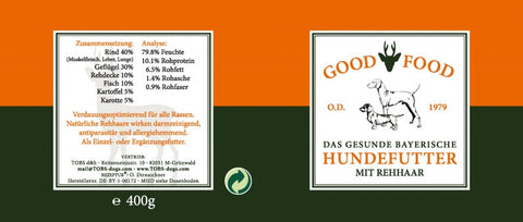"Hundefutter ""Good Food"" von Tobs"