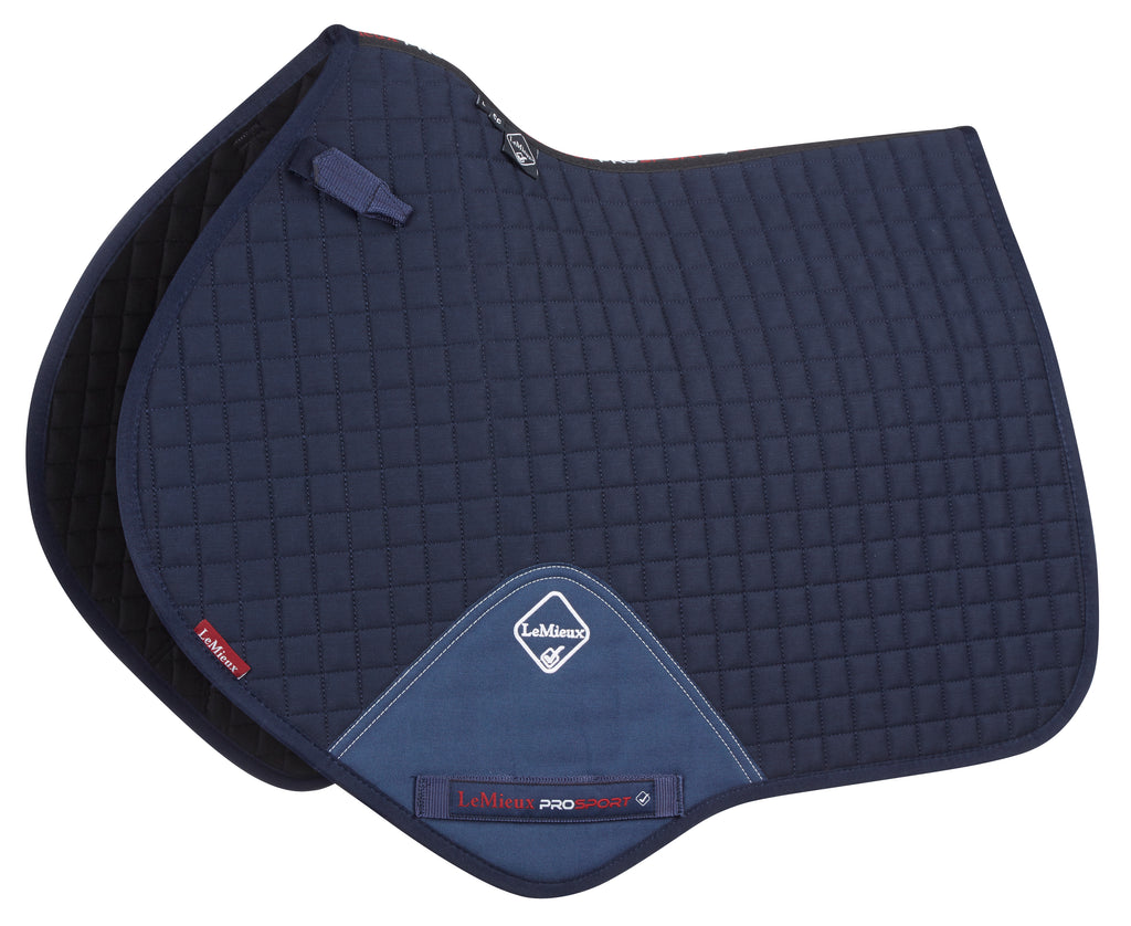 "Springschabracke ""Luxury CC Cotton"" in Navy von LeMieux"